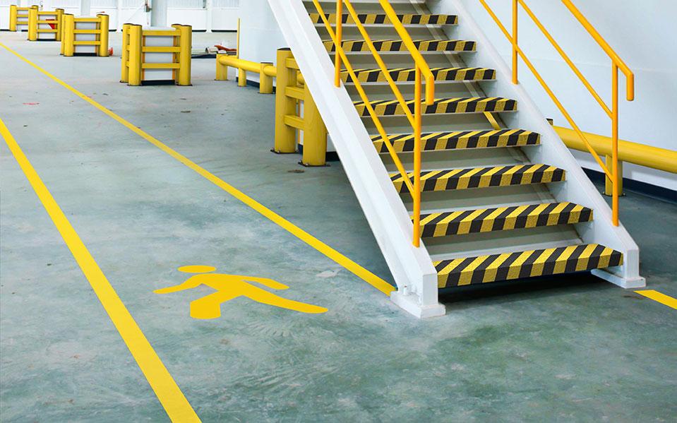Ontruimingsplattegronden Bedrijfsnoodplan Ontruimingsplan Calamiteitenplan Vluchtroute - Noodtrap Veilig magazijn