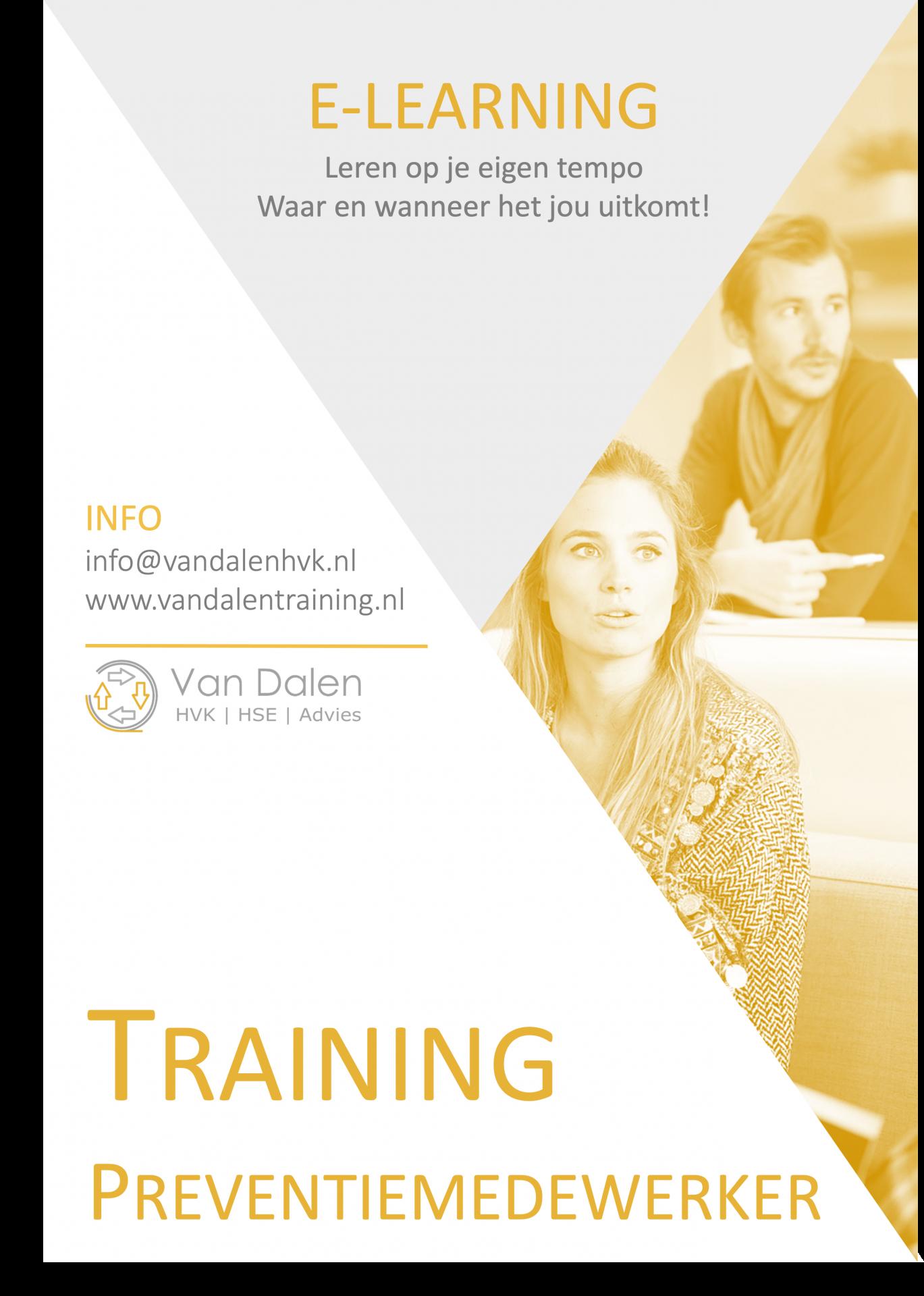 Training Preventiemedewerker E-learning