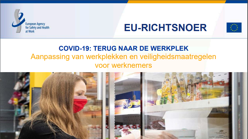 COVID-19: TERUG NAAR DE WERKPLEK - Aanpassing van werkplekken en veiligheidsmaatregelen voor werknemers